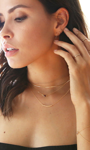 Twist Scroll Necklace - JoeLuc Jewelry