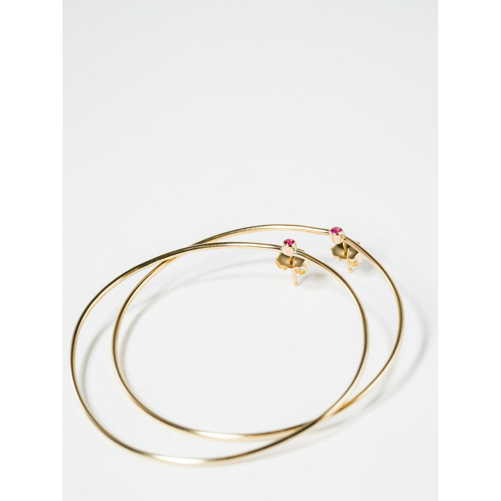 Roman Hoops - JoeLuc Jewelry