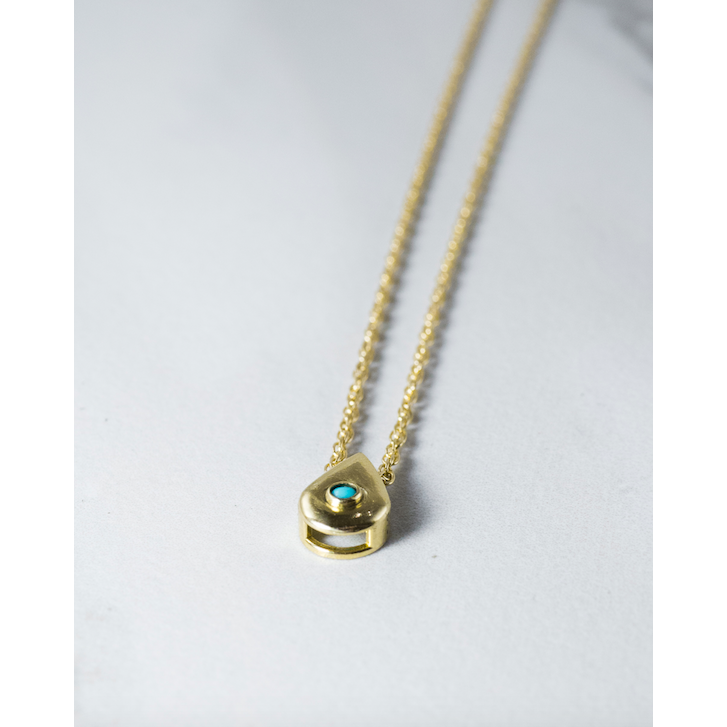 Greenwich Turquoise Chain - JoeLuc Jewelry