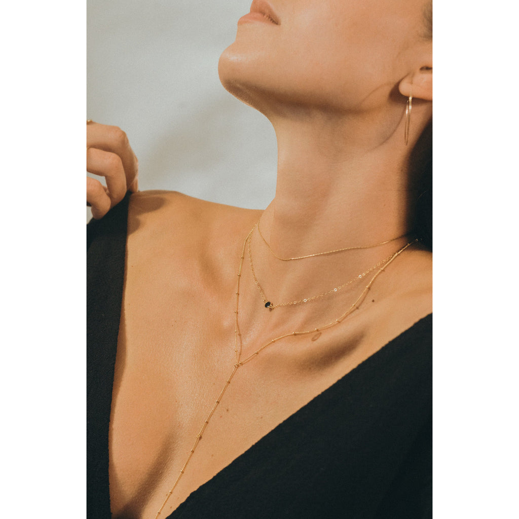 Stone Fox Necklace - JoeLuc Jewelry