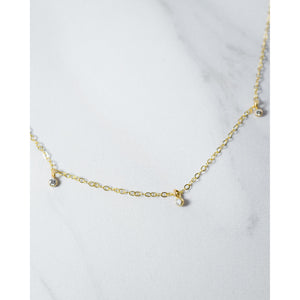 Orion's Belt Diamond Necklace - JoeLuc Jewelry