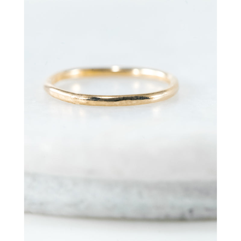 Simple Gold Band - JoeLuc Jewelry