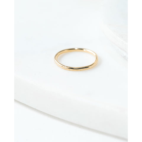 Indented Ring