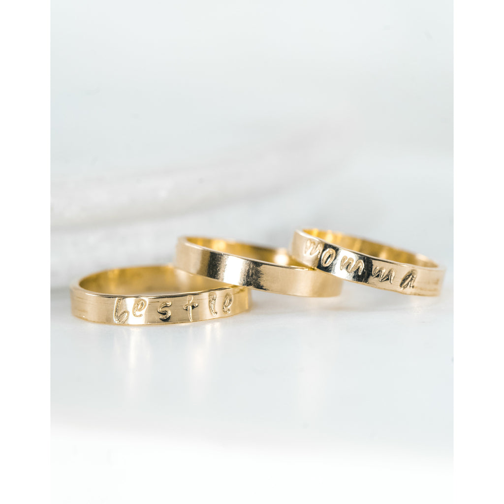 Personalized Band - JoeLuc Jewelry