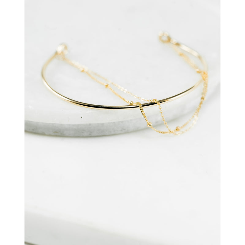 Layla Bar + Chain - JoeLuc Jewelry