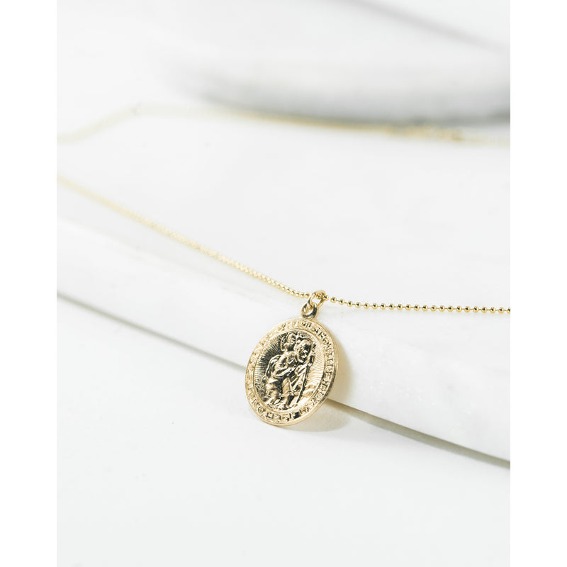 St. Christopher Medal - JoeLuc Jewelry