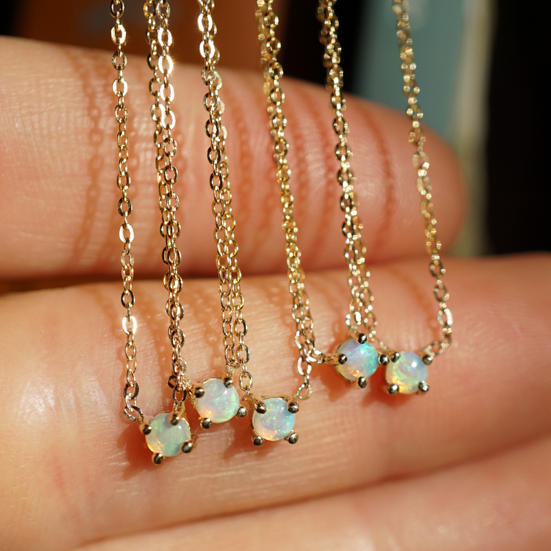 Opal Chain - JoeLuc Jewelry