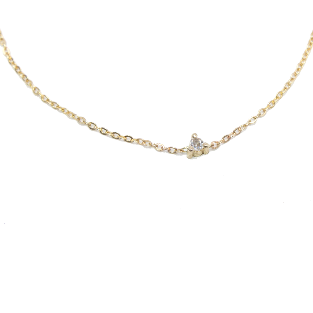 Rose Cut Diamond Chain - JoeLuc Jewelry