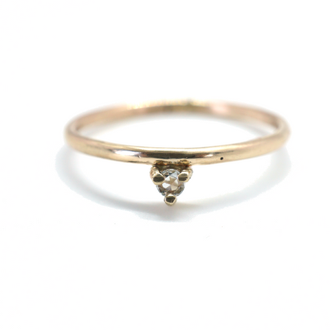 14kt Coronet Diamond Ring