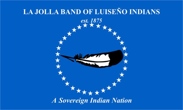 La Jolla Juiseno Tribal Flag