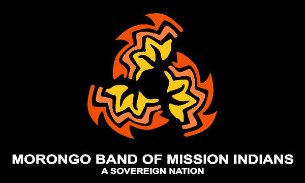 Morongo Band of Mission Indians Tribal Flag