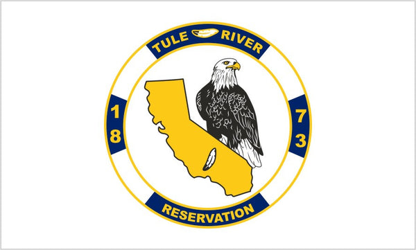 Tule River Tribal Flag