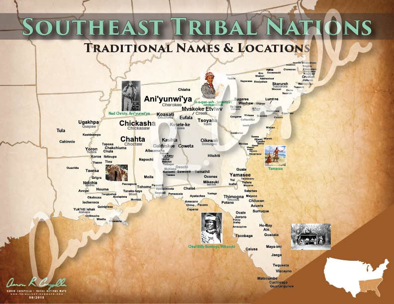 United States - Regional Tribal Nations of United States Maps Bundle