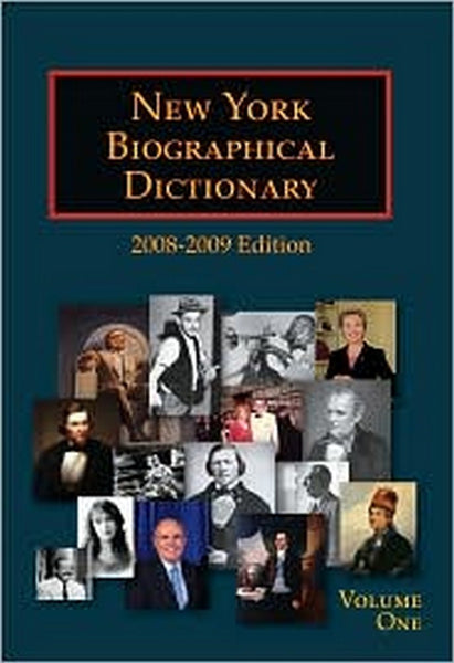 New York Biographical Dictionary