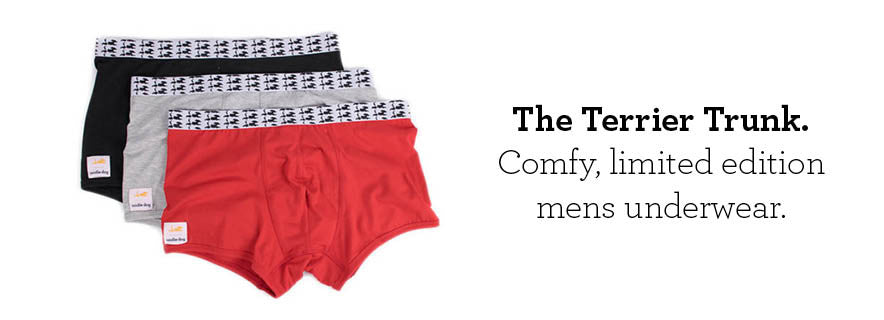Comfy limited edition mens underwear