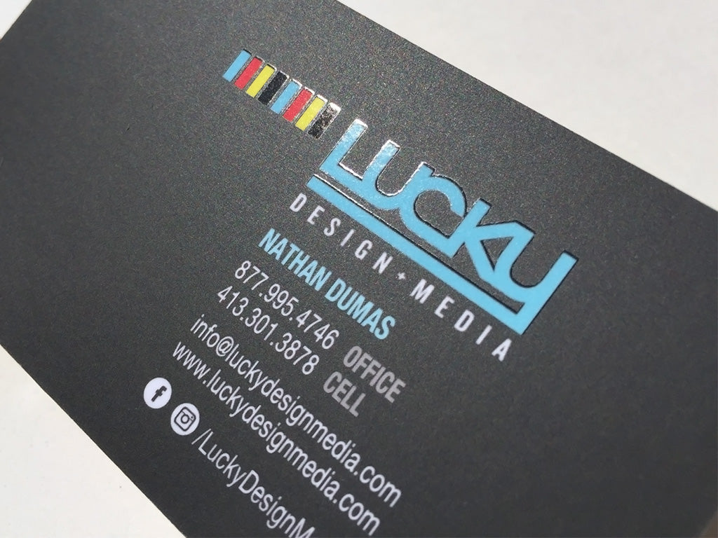 Silk Spot Uv Vs Matte Spot Uv Lucky Design Media