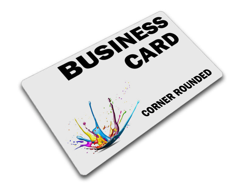 Corner Rounded Business Card Printing – Lucky Design + Media