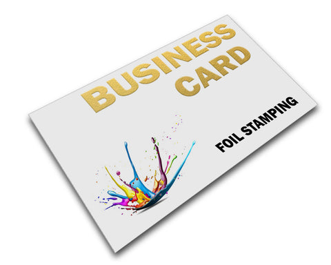 Foiled Business Cards Printing