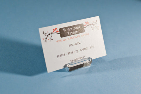 Standard business cards lucky design media standard business card printing and design jack jill invite reheart Gallery