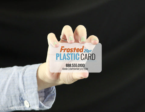 Plastic business card printing lucky design media plastic business card printing plastic business cards plastic business cards reheart Gallery