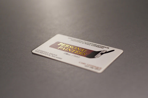 Corner rounded business card printing lucky design media gold foil corner rounded business card printing colourmoves