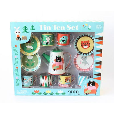 Vintage kids tea set by Omm Design