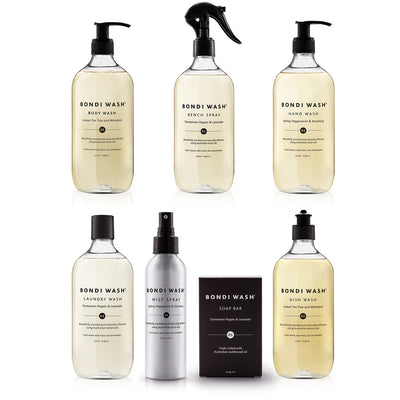 Bondi Wash, Beautifully Scented Bath and Cleaning Products