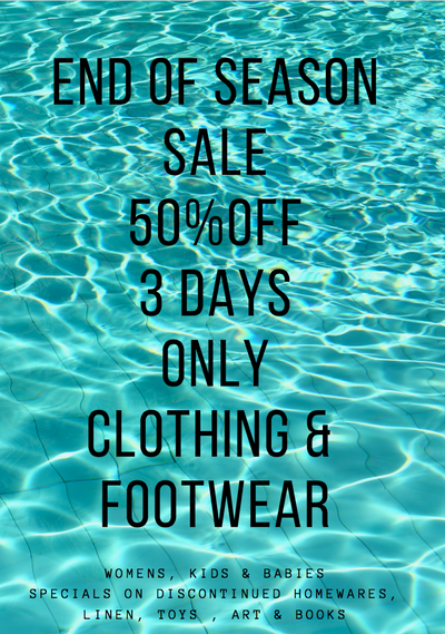 Our Summer Sale Three Day Sale Starts Friday
