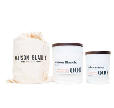 Maison Blanche, beautifully scented candles