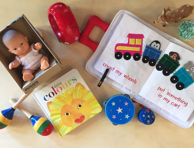 Twelve Days of Christmas - Day 5 Toddlers gifts to inspire