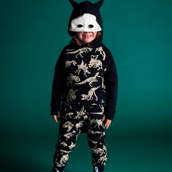 Rock Your Kid Fossil Hoodie