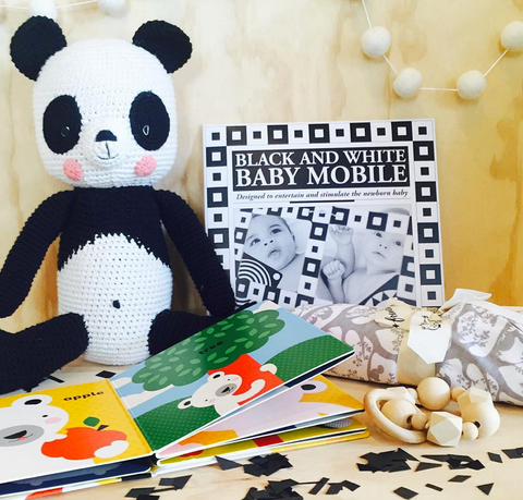 Monochrome Baby Gifts at The Corner Booth