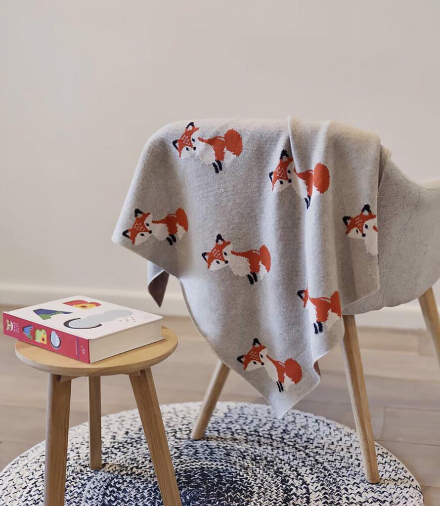 Indus Designs Baby Blanket at The Corner Booth Baby Gift Shop