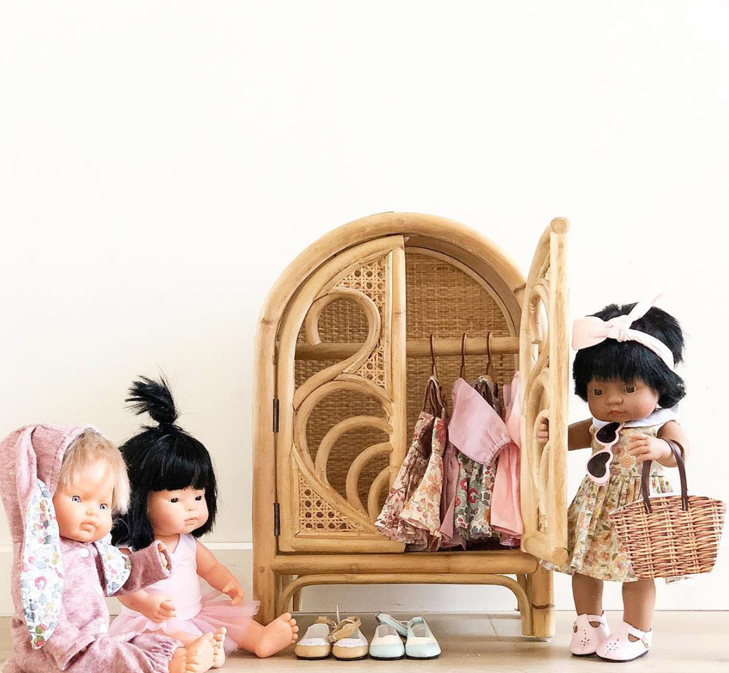 Rattan Dolls Furniture at The Corner Booth