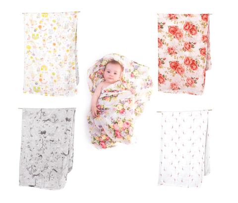Toshi Baby Swaddles at The Corner Booth Sydney