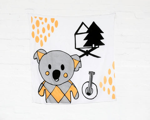 Kippens Swaddles and Wall Hangings