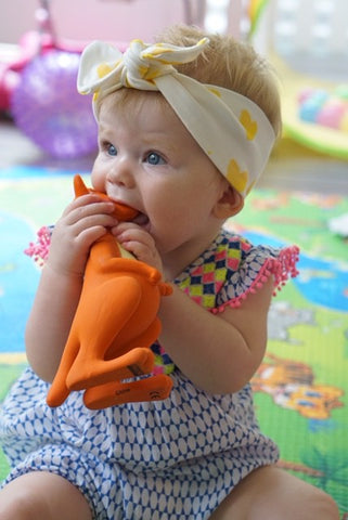 Mizzie Teething Toy, Australia's Answer to Sophie The Giraffe