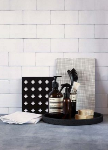 Zakkia monochrome homewares at The Corner Booth