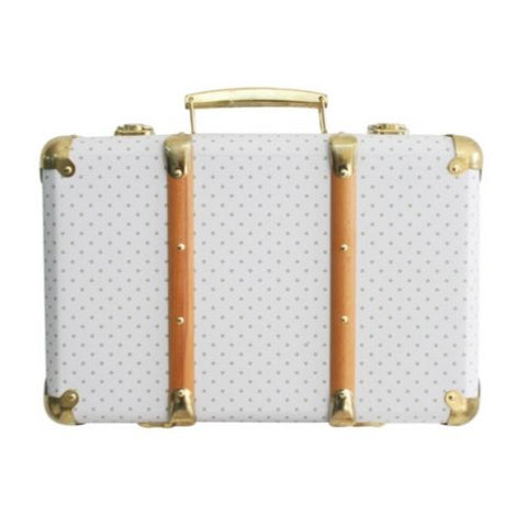 Alimrose Vintage Style Carry Case in Sage Spot