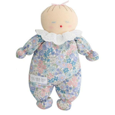 Alimrose Asleep Awake Baby Doll Liberty