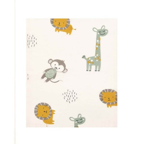 Jungle Friends Baby Wrap