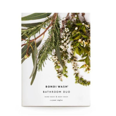 Bondi Wash Bathroom Pamper Duo