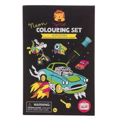 Colouring Set Road Stars