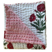 Baby Cot Throw in Dahlia