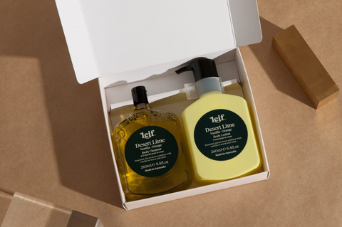 Leif 'Body Double' Desert Lime Gift Pack
