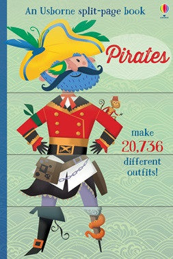 Pirates,Mix and Match Book - The Corner Booth