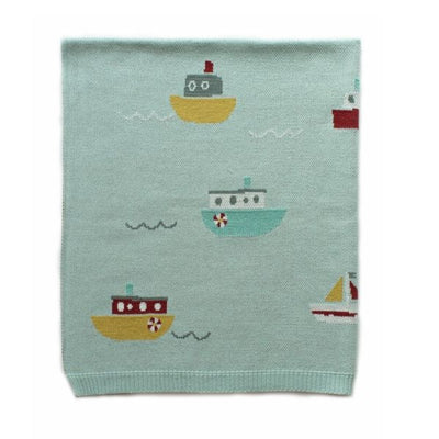 Baby Blanket Tugboat