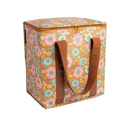 Kollab Cooler Bag Retro Aqua Floral