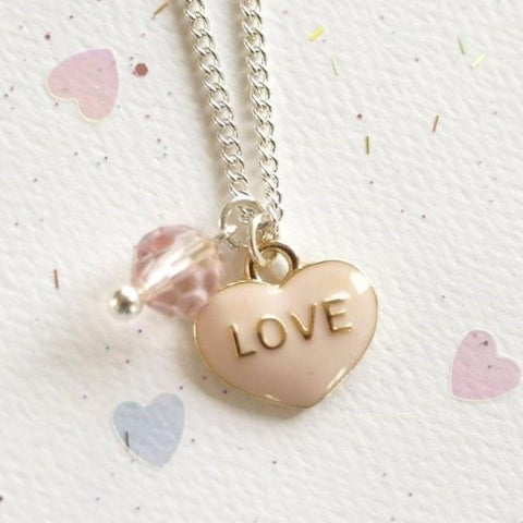 Lauren Hinkley LOVE heart Necklace