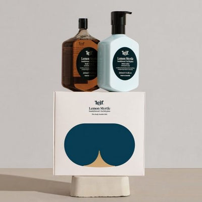 Leif 'Body Double' Lemon Myrtle Gift Pack